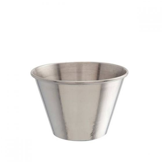 Large Stainless Steel Ramekin / Chip Cup 340ml / 12oz