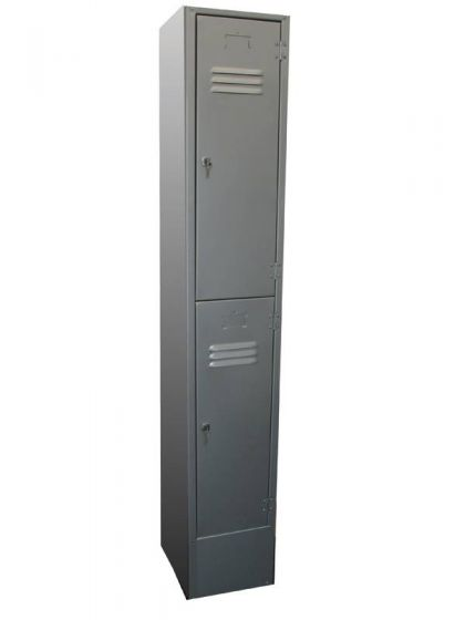 Two Door Commercial Storage Locker with Latch-Lock 300x450x1800mm