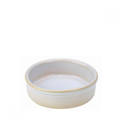 White Terra Stoneware Tapas Dish 5.25