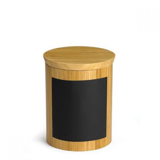 Bamboo Round Riser with Chalk 6x6x8""