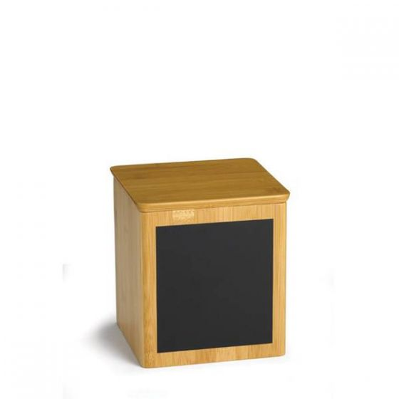 Bamboo Square Riser with Chalk 4x4x5