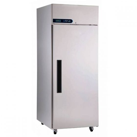 Xtra By Foster Single Door Freezer On Castors 21cu ft 600Ltr 675x850x1985