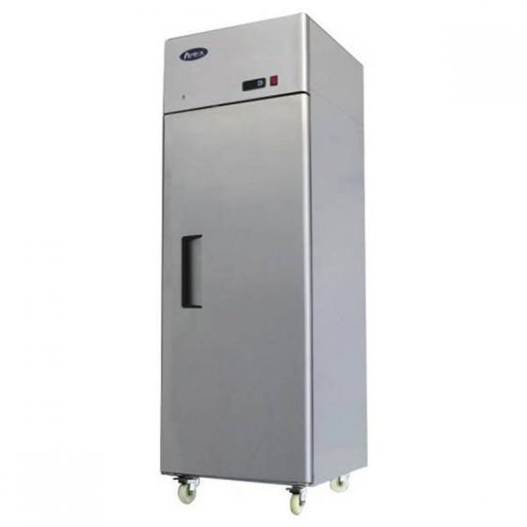 Atosa Stainless Steel Single Door Refrigerator on Castors 670Ltr 730x800x2065mm