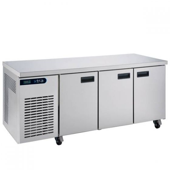 Foster XTRA 3 Door Refrigerated Counter 435Ltr [R290] 1775x700x855mm