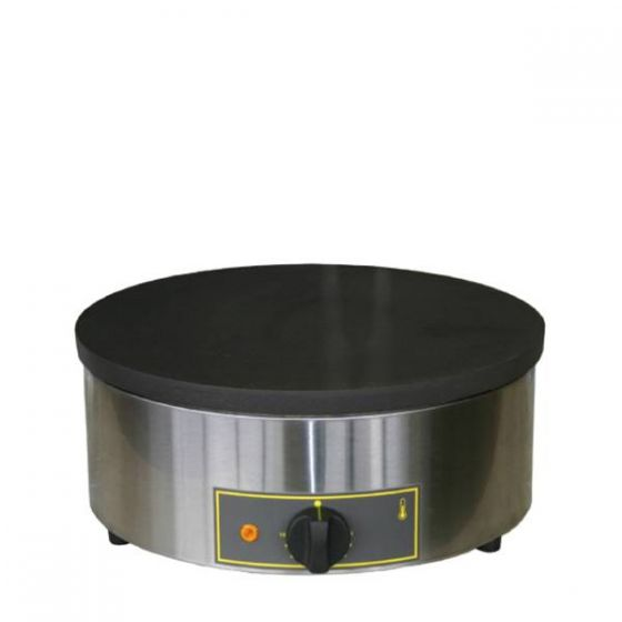 Roller Grill Single Crepe Maker With Spiral Element 3kw 400mm Diameter x 160mm
