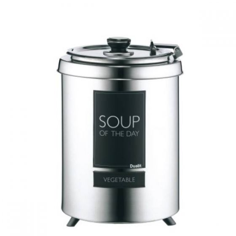 Dualit Stainless Steel Wet Heat Soup Kettle 6Ltr, 25.5x36cm