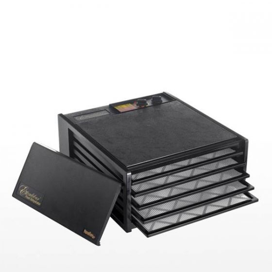 Excalibur Food Dehydrator 5 Tray with 26 Hour Timer 17x19x8.5