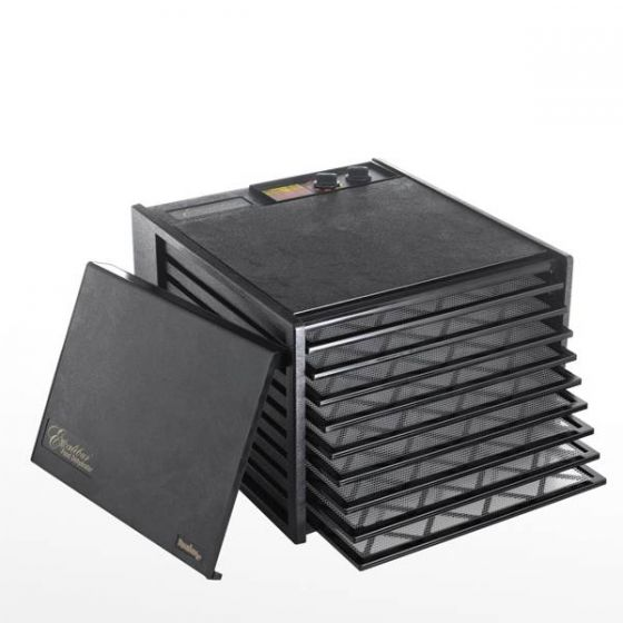 Excalibur Food Dehydrator 9 Tray with 26 Hour Timer 17x19x12.5
