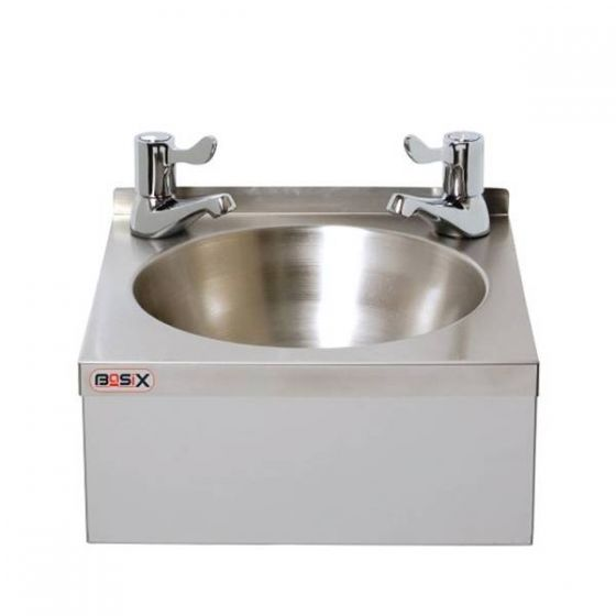 Stainless Steel Hand Washbasin with 3