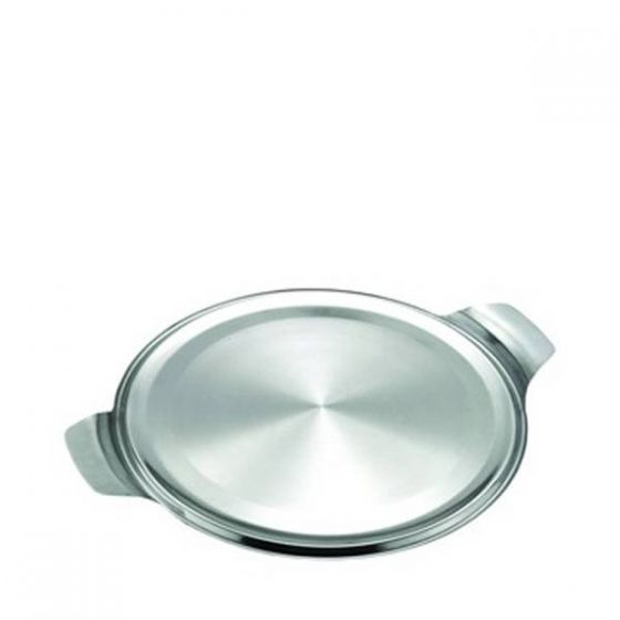Cake Plate Stainless Steel 12