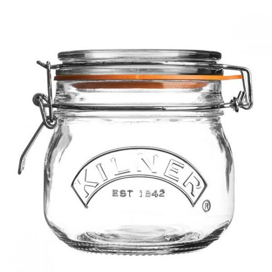 Kilner Glass Round Clip Top Jar 18oz/500ml
