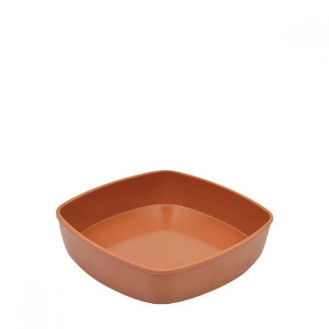 Dalebrook Terracotta Melamine Mezze Bowl Insert 1Ltr, 188x188x43mm