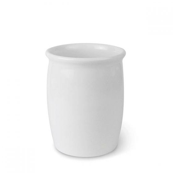 Dalebrook White Melamine Dressing Pot 140x207mm 2L