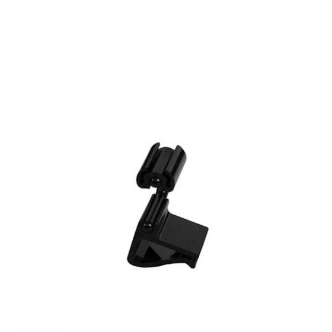 Dalebrook Black Polycarbonate Horizontal Ticket Clamp 20mm