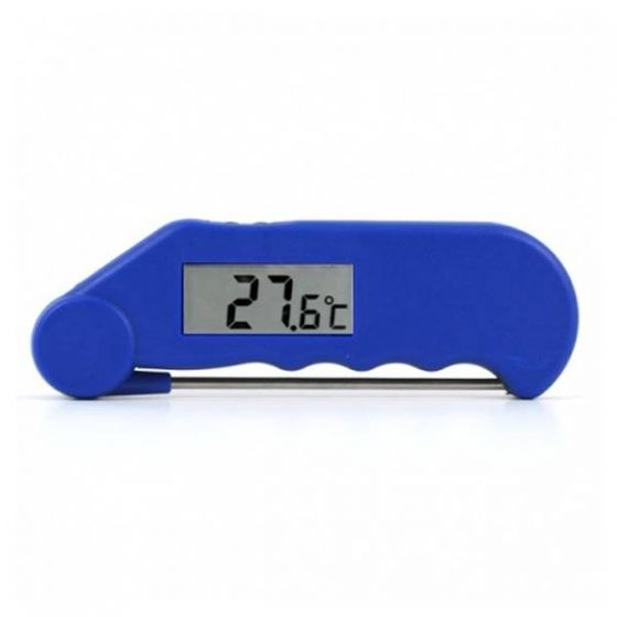 Gourmet Folding Probe Thermometer Blue