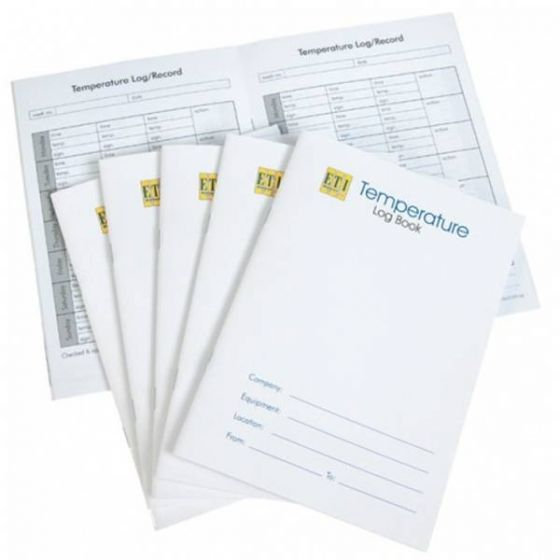 Ambient & Chilled Temperature Control Log Book A5