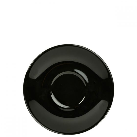 Royal Genware Black Saucer 5.5