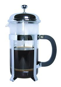 Cafe Ole Cafetiere Chrome 3 Cup
