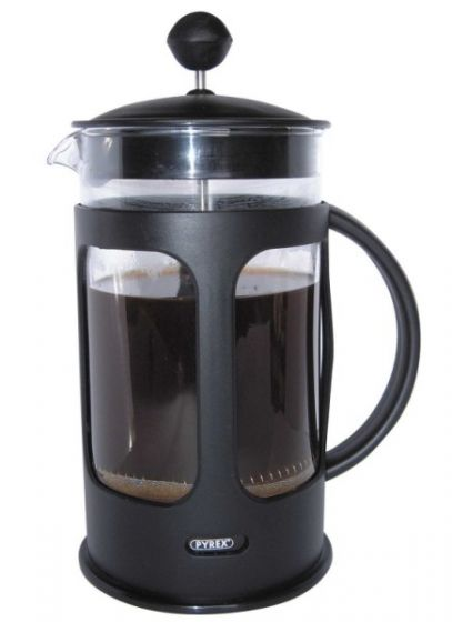Cafe Ole Everyday Cafetiere Black Dishwasher Safe Plastic 3 Cup