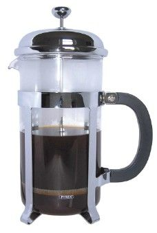 Cafe Ole Cafetiere Chrome 6 Cup