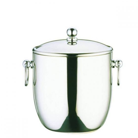 Elia Premium Stainless Steel Ice Bucket with Water Tray 3Ltr, Medium