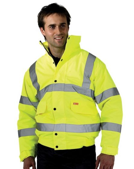 Yellow High Visibility Jacket (Please State Size)