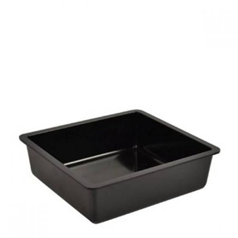 Dalebrook Black Melamine Chunky Crock Insert 1Ltr, 16.2x17.3x5cm (fits 2Ltr Crock)