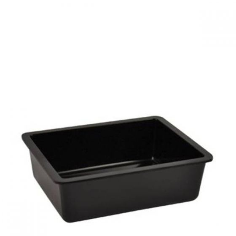 Dalebrook Black Melamine Chunky Crock Insert 16.2x13x5cm 700ml (fits 1.5Ltr Crock)