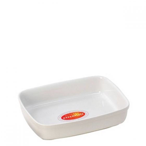 Porcelain Rectangular Roasting Dish 7.125x4.25x1.625