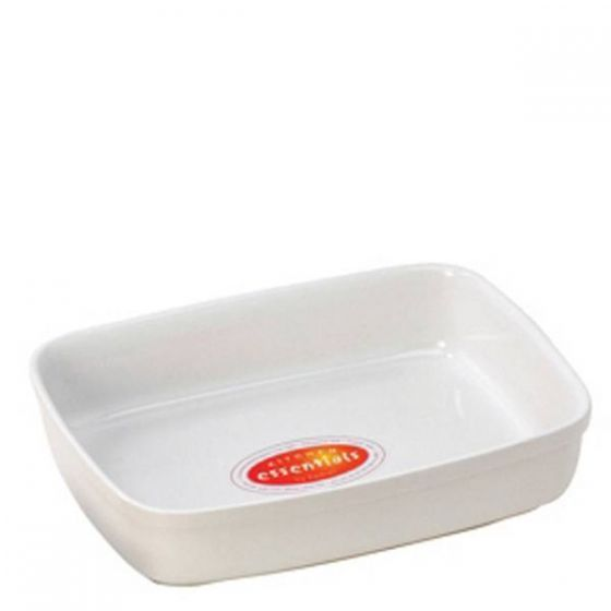 Porcelain Rectangular Roasting Dish 13x8x2