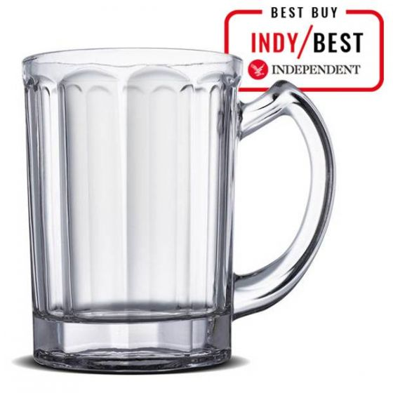 The Lantern 10-Sided Pint Glass Tankard CE 20oz / 57cl