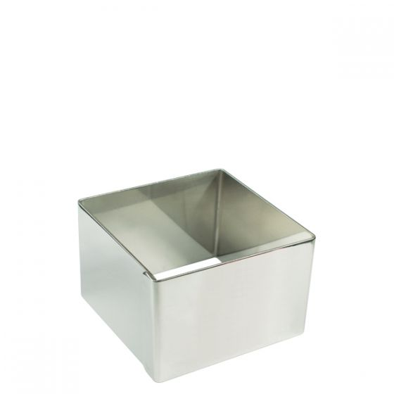 Stainless Steel Square Mould 3.25x3.25x1.5