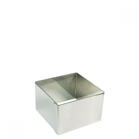 Stainless Steel Square Mould 2.5x2.5x1.5