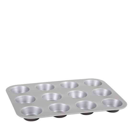 12 Cup 39.4x30cm Non Stick Muffin Pan 70x30mm Cup