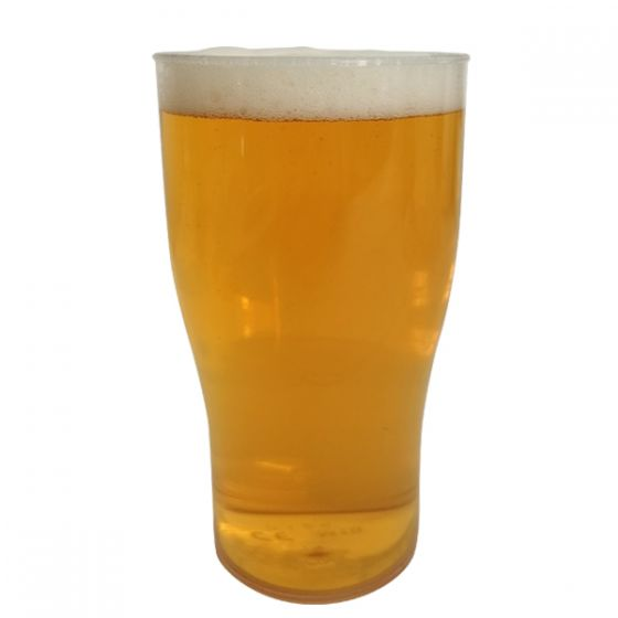 **Special Purchase** BBP Econ Reusable Plastic Tulip Pint Glass CE to Brim 20oz / 57cl