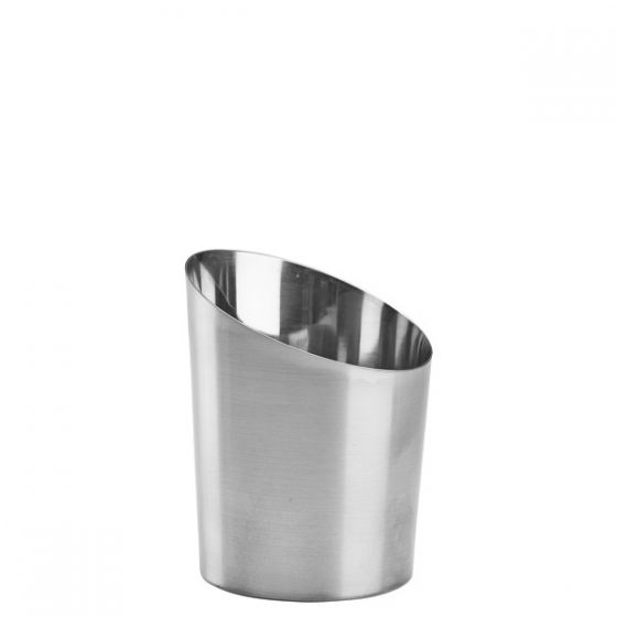 Staineless Steel Angled Serving Cone 11x9.5cm
