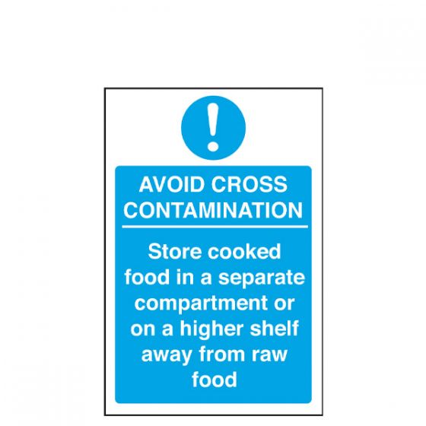 Avoid Cross Contamination Sign 200 x 300mm