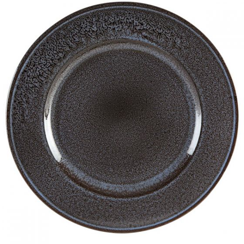 Porcelite Aura Earth Rimmed Plate 12.5