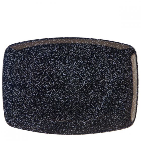 Porcelite Aura Tide Rectangular Plate 12.5x9.3