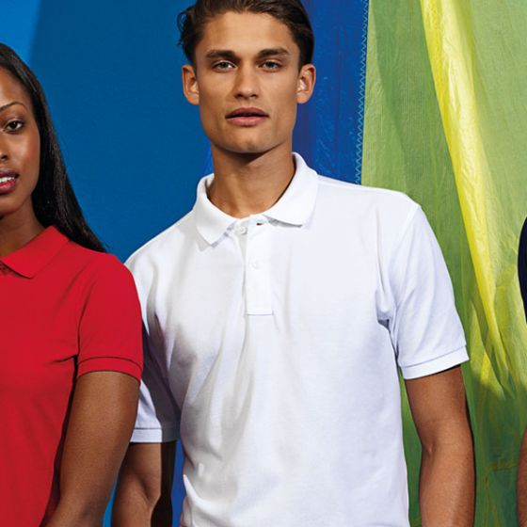Mens Polo Shirt White Ringspun Combed Cotton XX Large 47