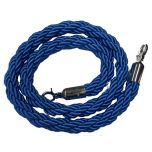 Blue Barrier Real Rope with Chrome Fittings 1.5m