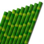 """Bamboo Paper Straw 6mm Bore 8"""" / 20cm"""