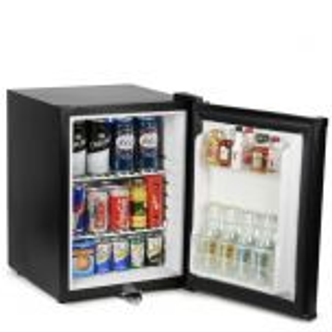 Frostbite Zero Degrees Integrateable Black Mini Bar Fridge 35 Litre 405x433x550mm