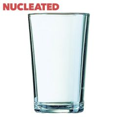 Toughened Conical Nucleated Pint Beer Glass CE 20oz / 57cl