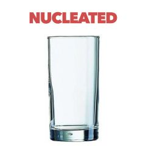 Standard Hiball 1/2 Pint Tumbler Glass Nucleated CE 10oz / 28cl