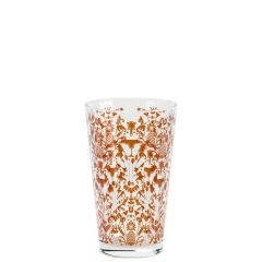 Parma Glass Cocktail Shaker With Bronze Chase 16oz / 45cl