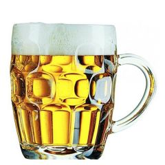 Dimple Pint Beer Glass Tankard CE 20oz / 57cl