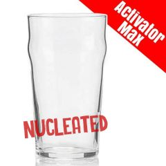 Toughened Nonic Pint Beer Glass Nucleated CE 20oz / 57cl