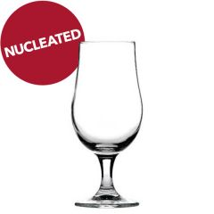Munique Stemmed Beer Glass Nucleated 13oz / 37cl