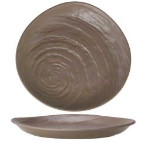 """Steelite Scape Melamine Mushroom Plate 11"""" / 28cm"""